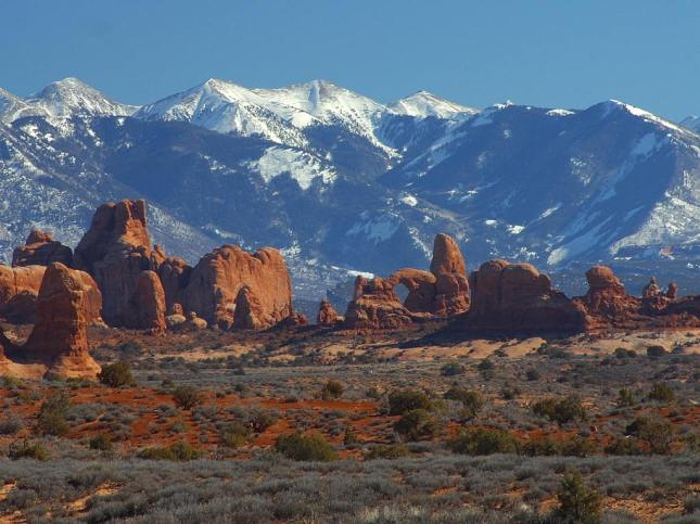 Garden of Eden at Arches National Park