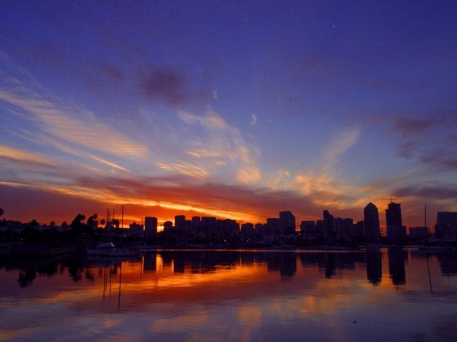 San Diego Sunrise (courtesy PDPhoto.org)